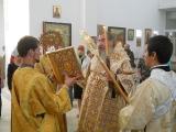 Божественная Литургия в неделю перед Воздвижением